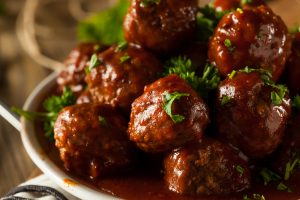 Crockpot Grape Jelly Meatballs Recipe