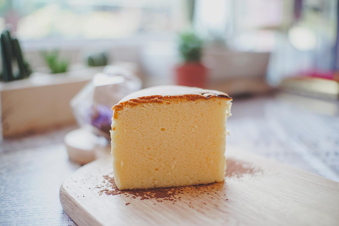 Fluffy Rice Cooker Mocha Castella Cake Recipe