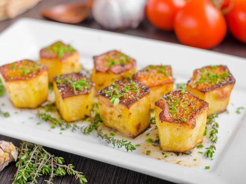 fancy fondant potatoes