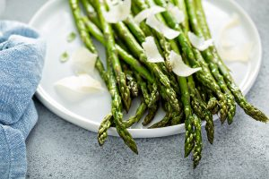 Garlic Browned Butter Baked Asparagus Recipe