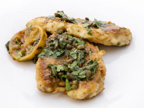 delicious garlic chicken piccata