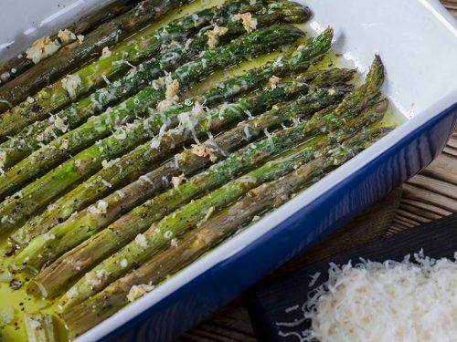 tasty garlic parmesan roasted asparagus