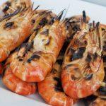 grilled sriracha shrimp