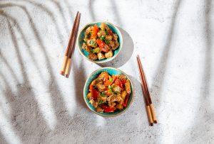Hawaiian BBQ Chicken Bowls Recipe