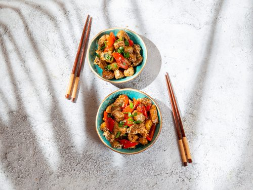 flavorful bbq chicken bowls