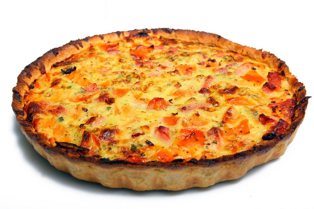 meatless healthy quiche