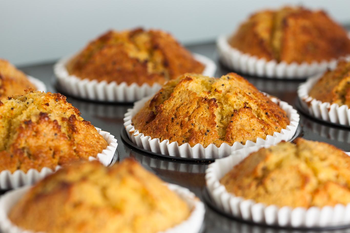 Homemade Banana Muffins Recipe