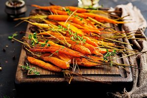 Honey Roasted Carrots Recipe