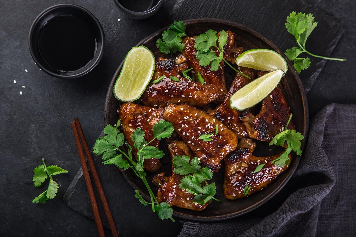 Honey Sesame Chicken Wings Recipe