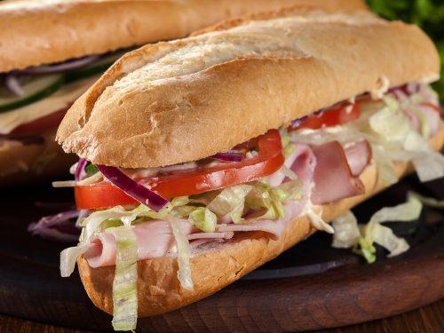 breakfast italian sandwich