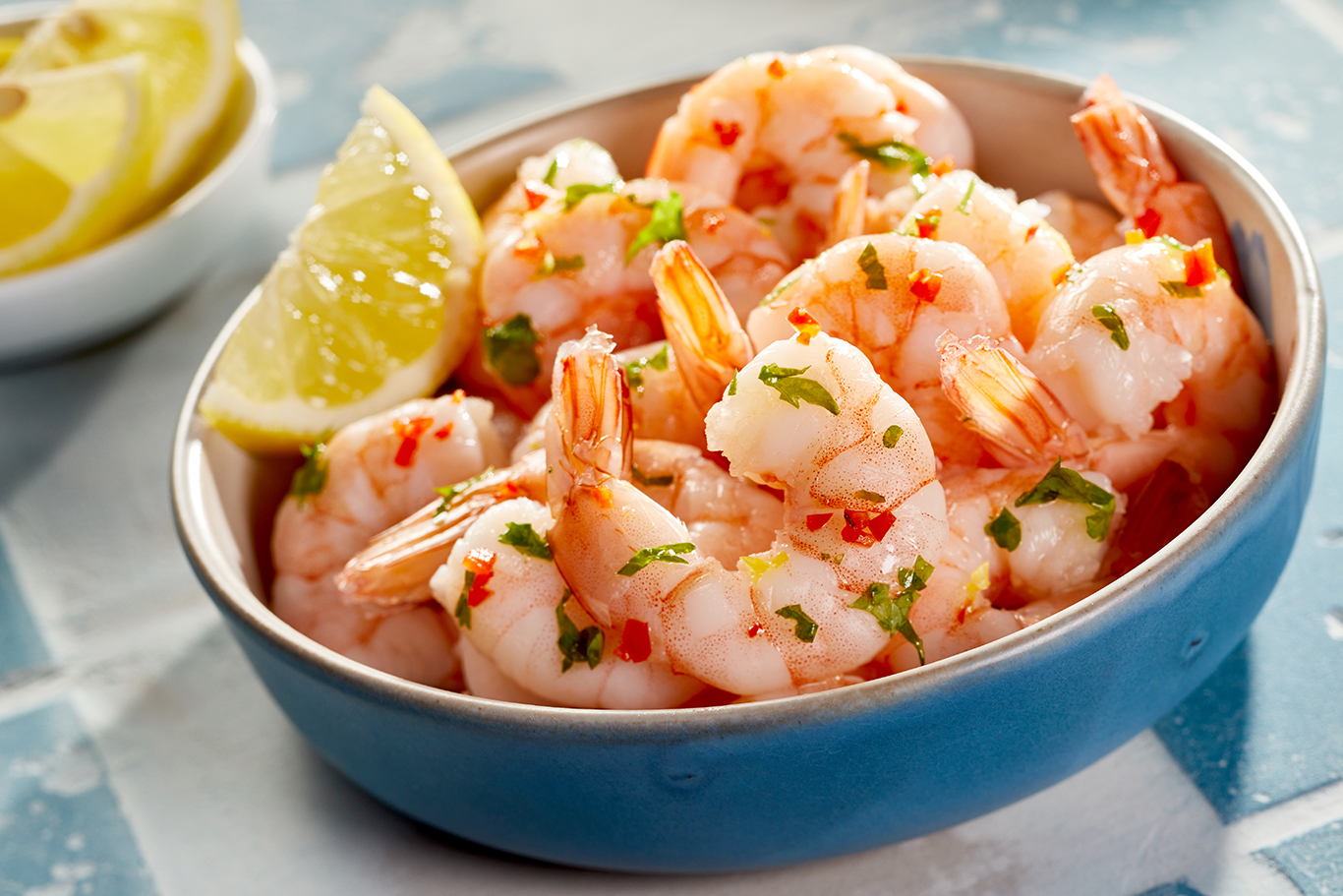 Lemon Paprika Garlic Prawns (Shrimp) Recipe