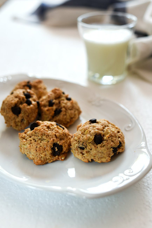 Low Fat Chocolate Chip Banana Cookies Recipe