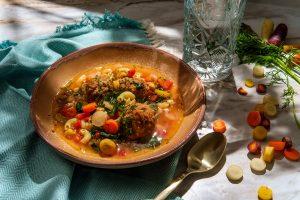 Meatball Pasta Soup Recipe