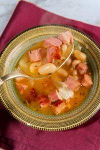Navy Bean Soup with Ham Recipe