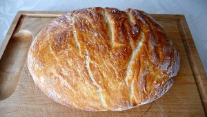 No-Knead Whole Wheat Bread with Sorghum Flour Recipe