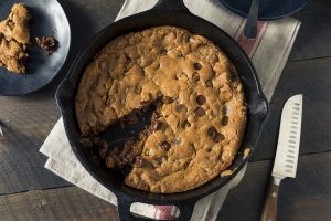 Nutella Stuffed Skillet Cookie Recipe