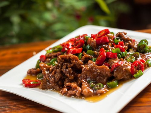 delicious pepper steak stir-fry