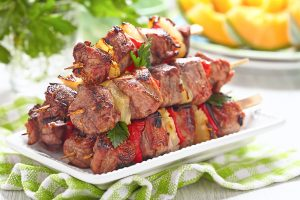 Pork Kabobs with Pineapple Recipe