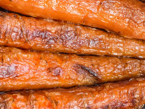 roasted carrots with honey butter