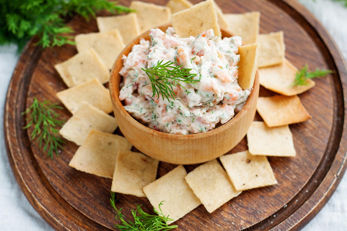 Seattle Smoked Salmon Dip Recipe