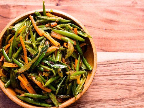 stir fry spring veggie