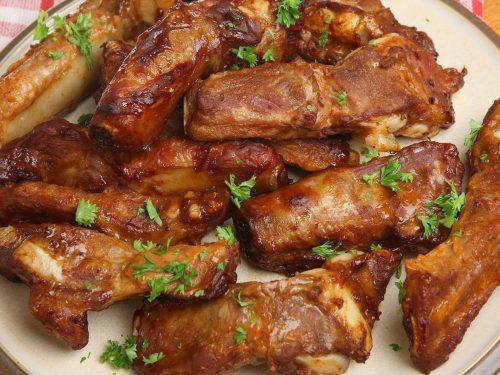 savory caramel ribs