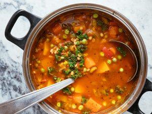 Vegetable Barley Soup Recipe