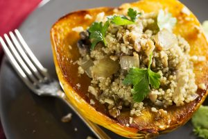 Vegetarian Stuffed Acorn Squash Recipe