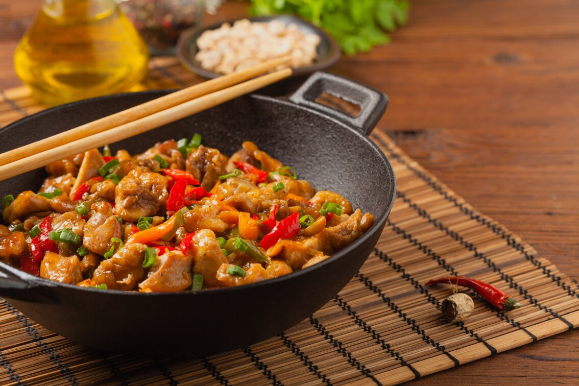 spicy peanuts chicken
