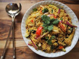 flavorful thai quinoa salad