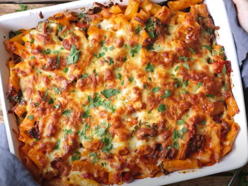 chicken bacon pasta recipe