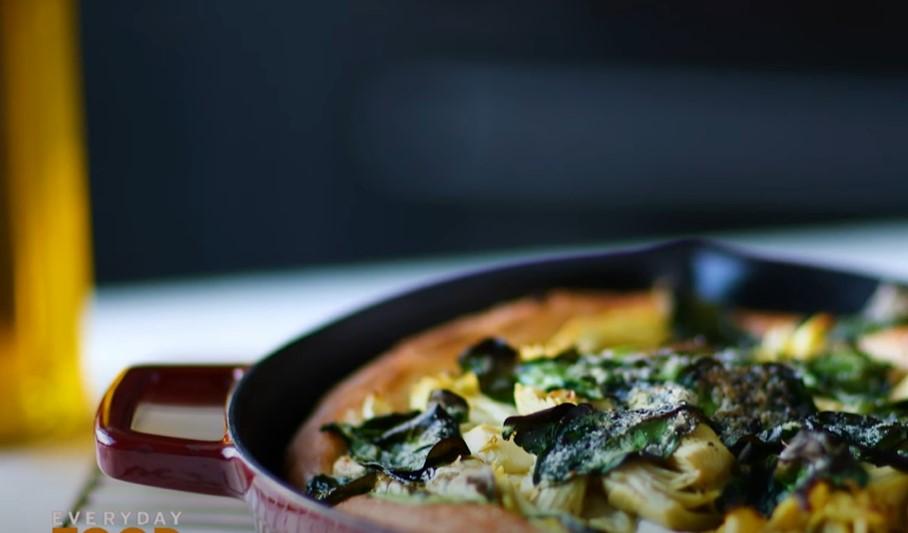 spinach and artichoke pizzas recipe