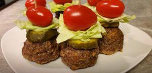 Cheeseburger Stuffed Meatballs Recipe