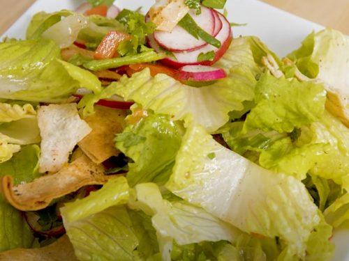 white anchovy and crisp pita bread salad recipe