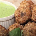 vegetarian lentil and mushroom meatballs recipe