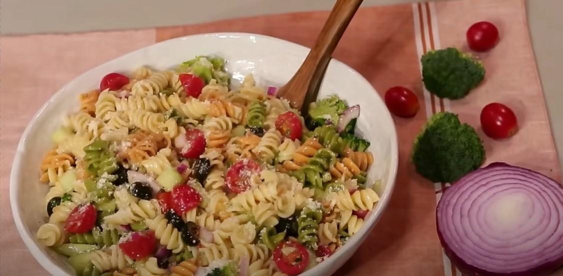 zesty italian salad recipe