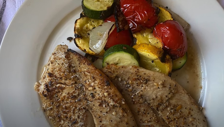 broiled tilapia with garlic recipe
