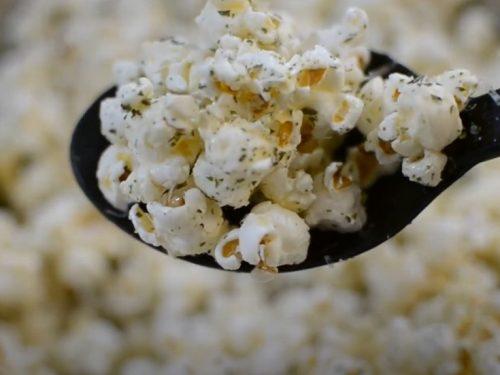 parmesan buttered popcorn recipe