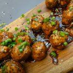 asian turkey meatballs with lime cilantro sauce recipe