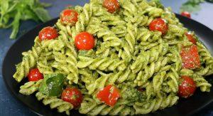 Parsley Pesto Pasta Recipe