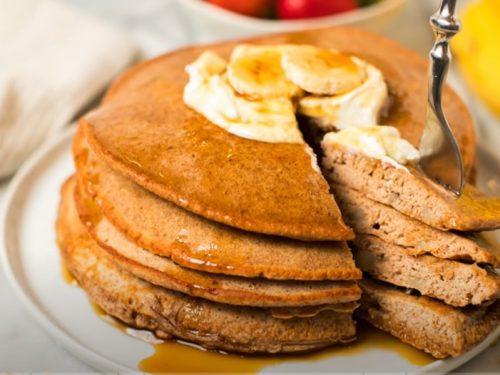 peanut butter banana pancake recipe