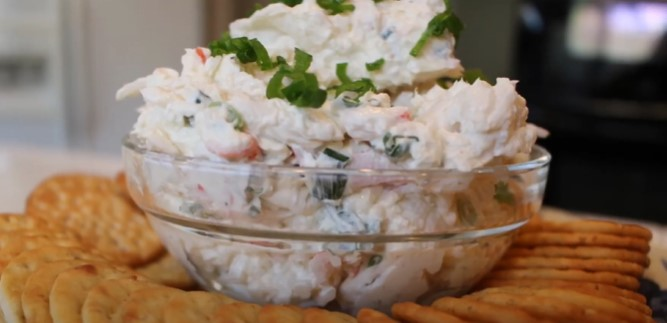 crab dip with green onion recipe