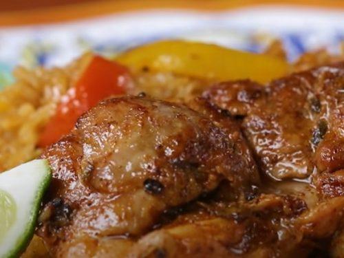 easy chicken fajita rice bowls recipe