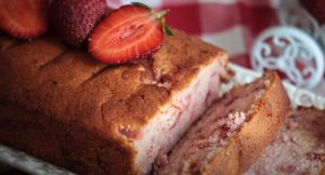 Strawberry Shortcake Loaf Recipe