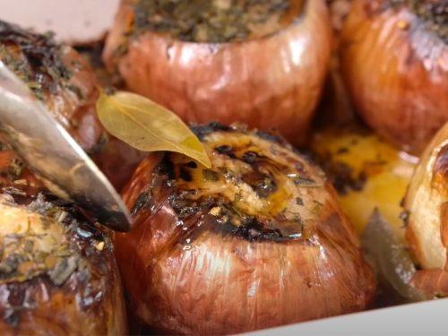 baked onions recipe