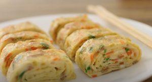 Spicy Southwest Breakfast Omelet Egg Rolls Recipe