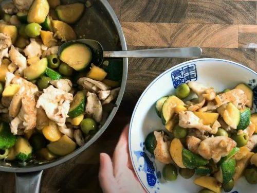 chicken zucchini stir fry recipe