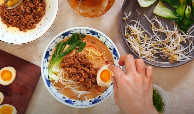 sesame ramen noodles recipe