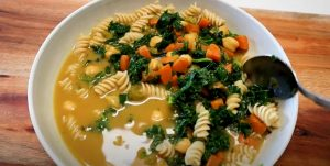 Chickpea and Pasta Soup Recipe