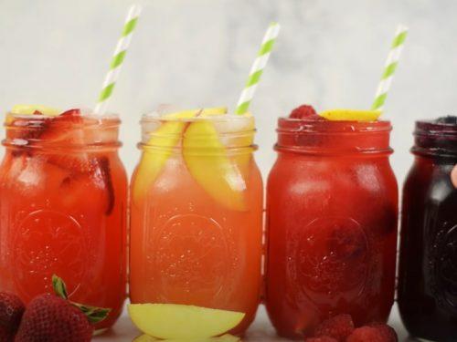 nectarine lemonade recipe